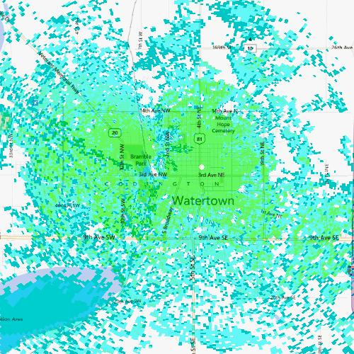 WiMax Coverage Area