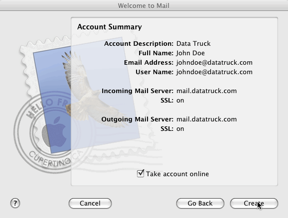 Apple Mail Step 5